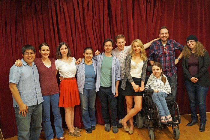 Cast and Creative Team of TEENAGE DICK by Mike Lew (commissioned by The Apothetae, developed at The Lark)