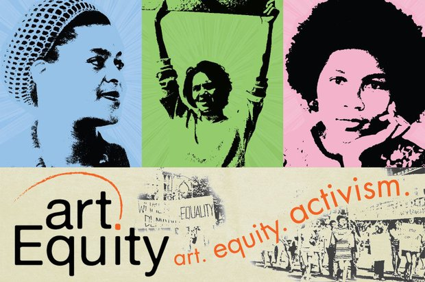 artEquity logo and activist photos