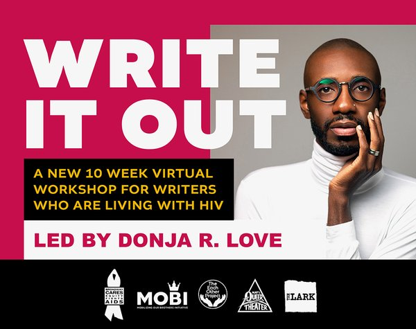 WRITE IT OUT: A New Program for Writers Living with HIV