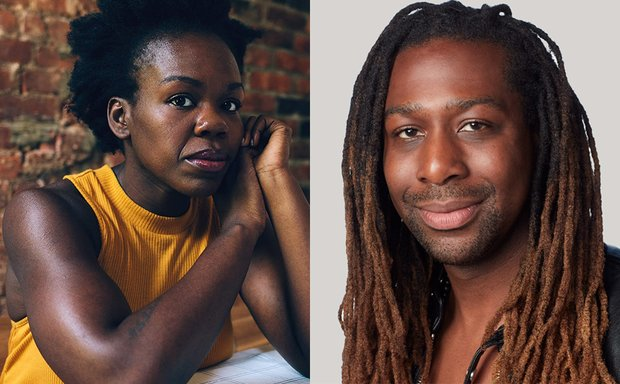 Heashots of Ngozi Anyanwu and James Anthony Tyler