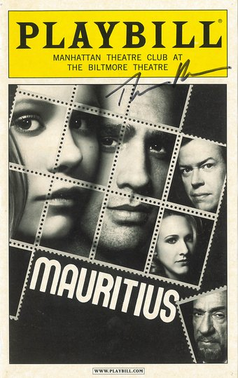 First Lark-affiliated play on Broadway: Theresa Rebeck's Mauritius.