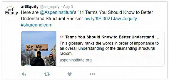 "Here are @AspenInstitute's ""11 Terms You Should Know to Better Understand Structural Racism"" #equality #shareandlearn"