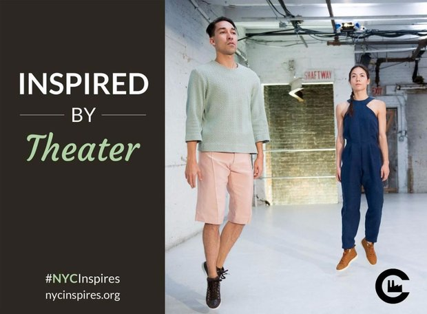 #NYC Inspires, Inspired by Theater image